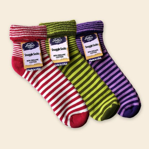 Organic Cotton Snuggle Socks