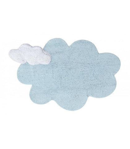 Washable Rug - Puffy Dream Blue