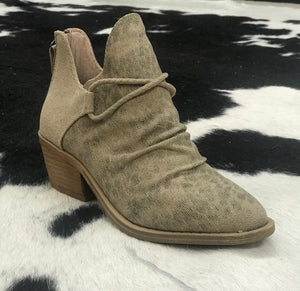 Taupe Spartan Bootie