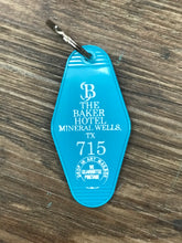 Retro Baker Key Fob