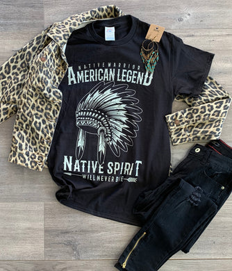 American Legend Native Spirit Tee