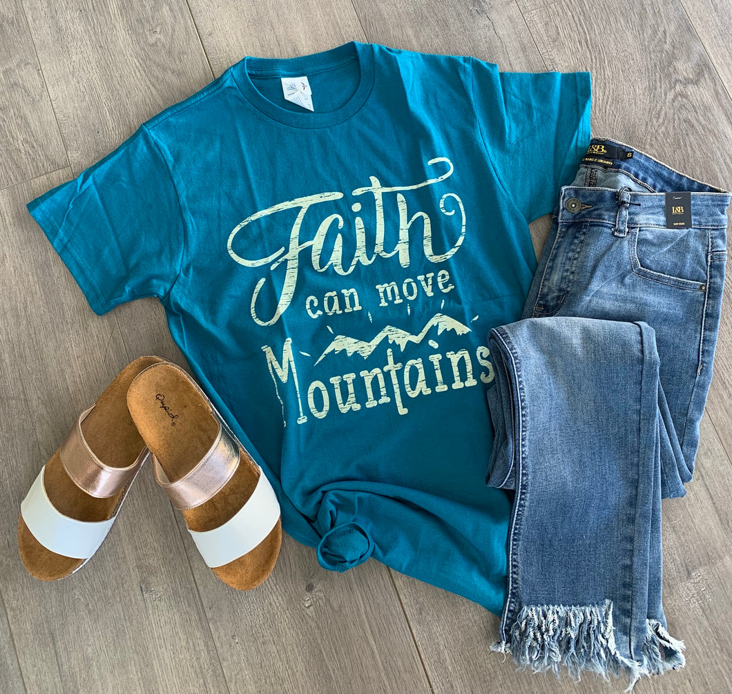 Faith Moves Mountains Tee