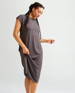 Easy Dress Bitter Brown
