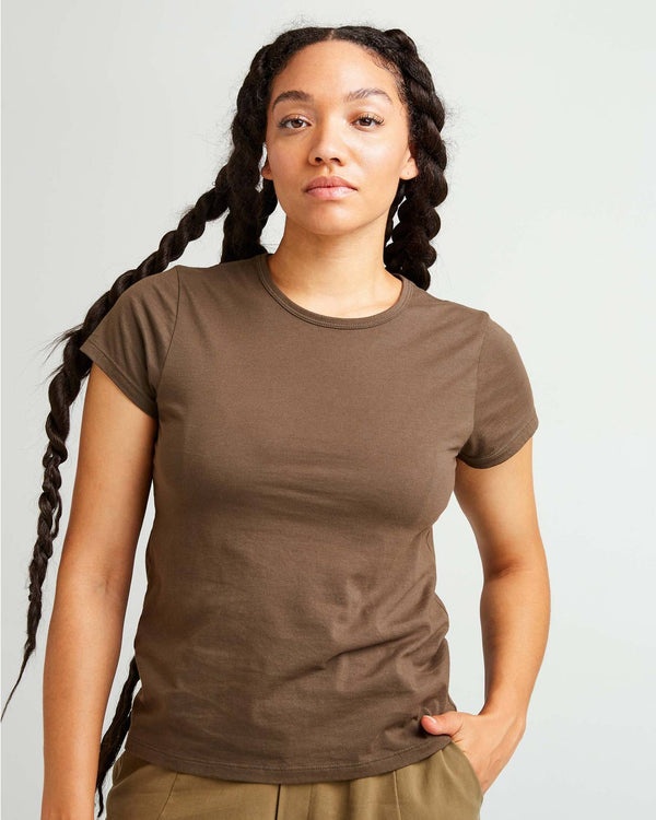 Classic Tee - Bitter Brown
