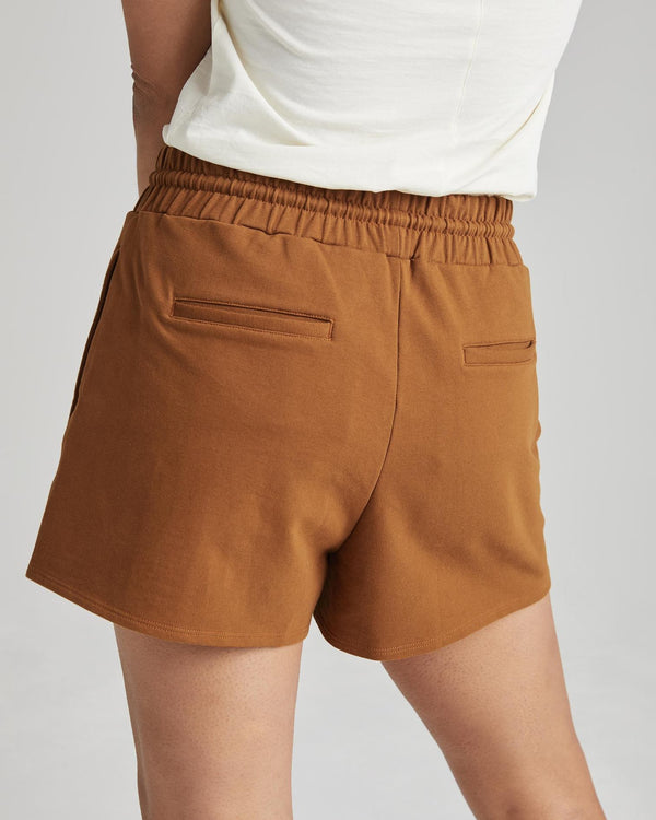 Terry Sweatshort I woodgrain