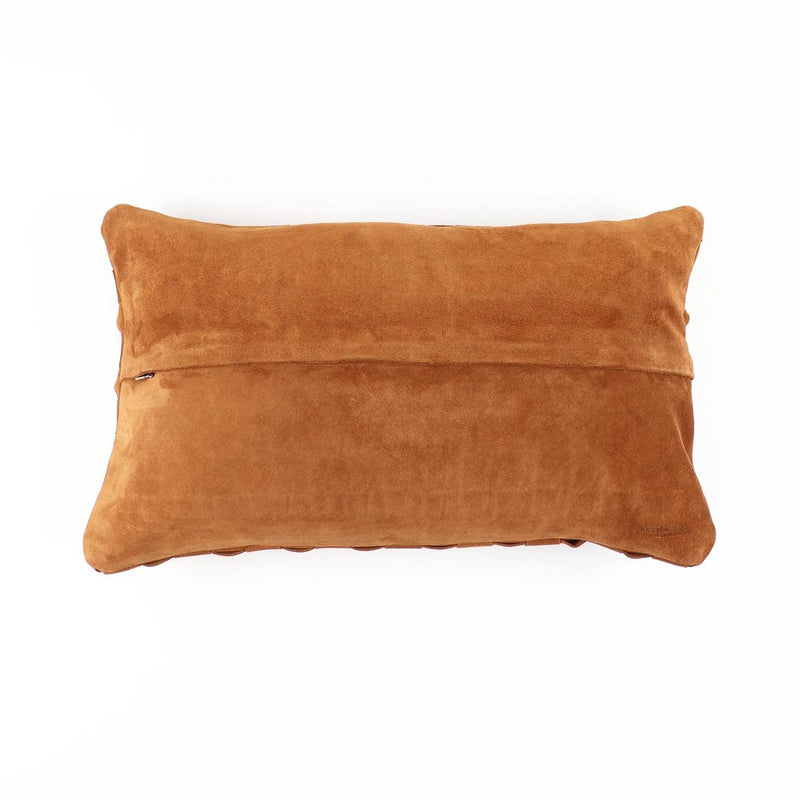 Socco Noho Suede Leather Pillow