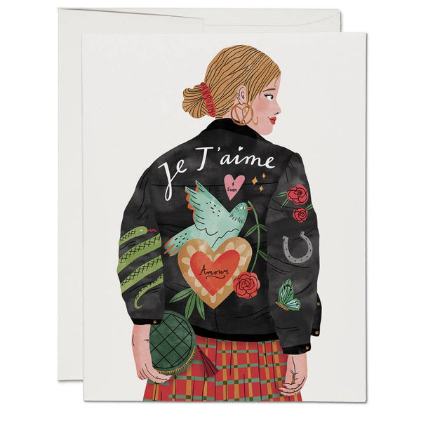 Je T'aime Jacket Cards