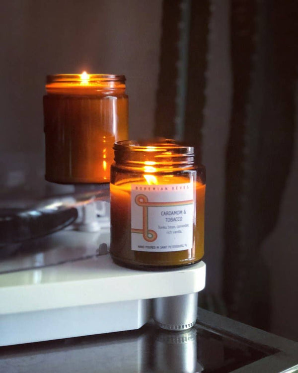 Cardamom And Tobacco Candle