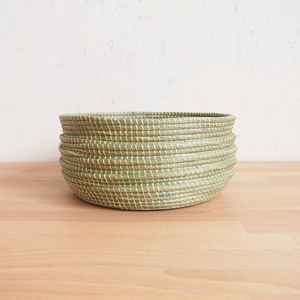 Wave Sweetgrass Bowl