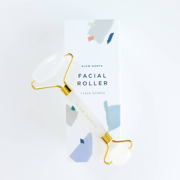 Facial Roller - Clear Quartz