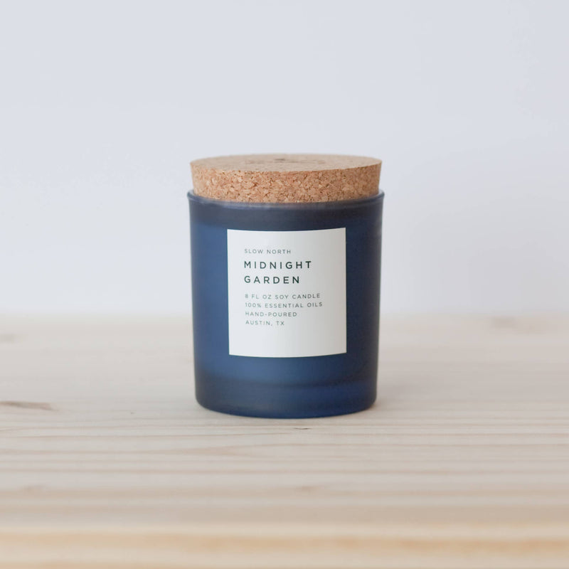 Midnight Garden Frosted Candle