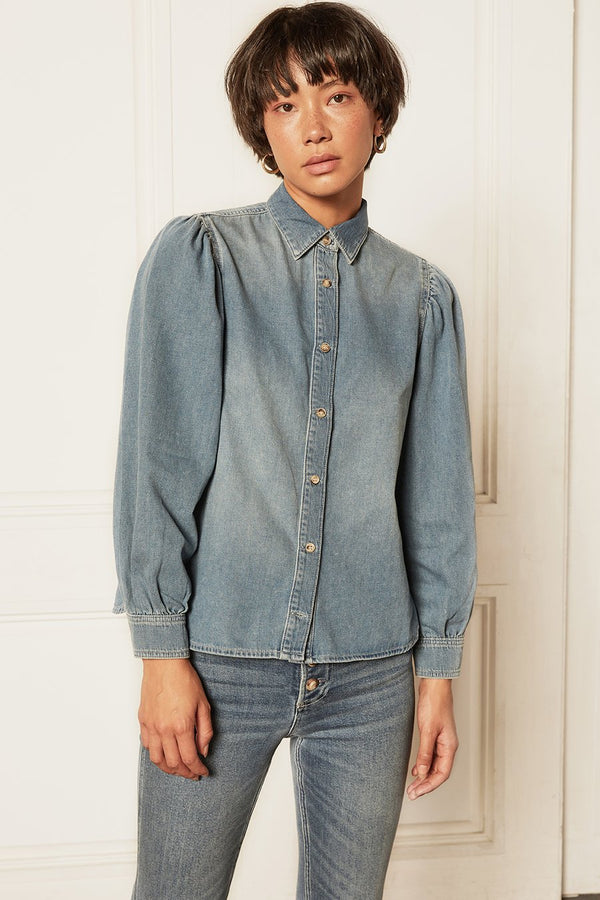 The Porter Denim Top