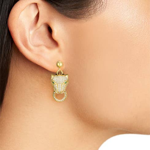 Roaring Tiger Earrings