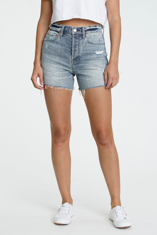 Bottom Line High Rise Vintage Short I waved
