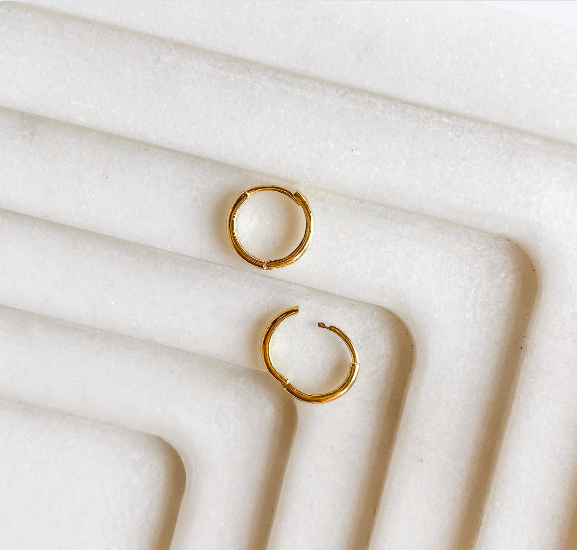 Gold Vermeil Stacking Hoops