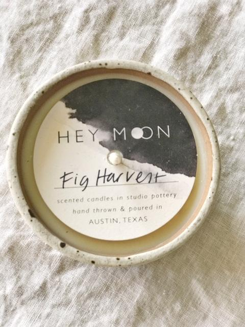 Fig Harvest Ceramic Candle