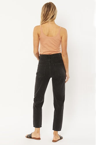 Stella Denim Pant Washed Black