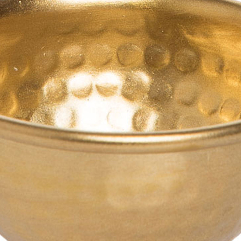 Hammered Metal Bowl