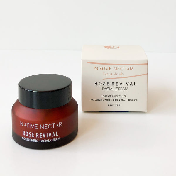 Rose Revival Facial Cream 2oz