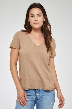 Unforgettable Textured V Tee