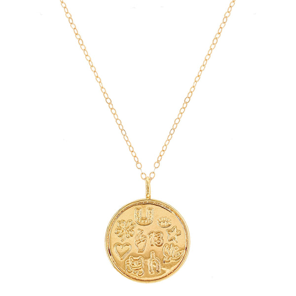 Lucky Talisman Pendant Necklace
