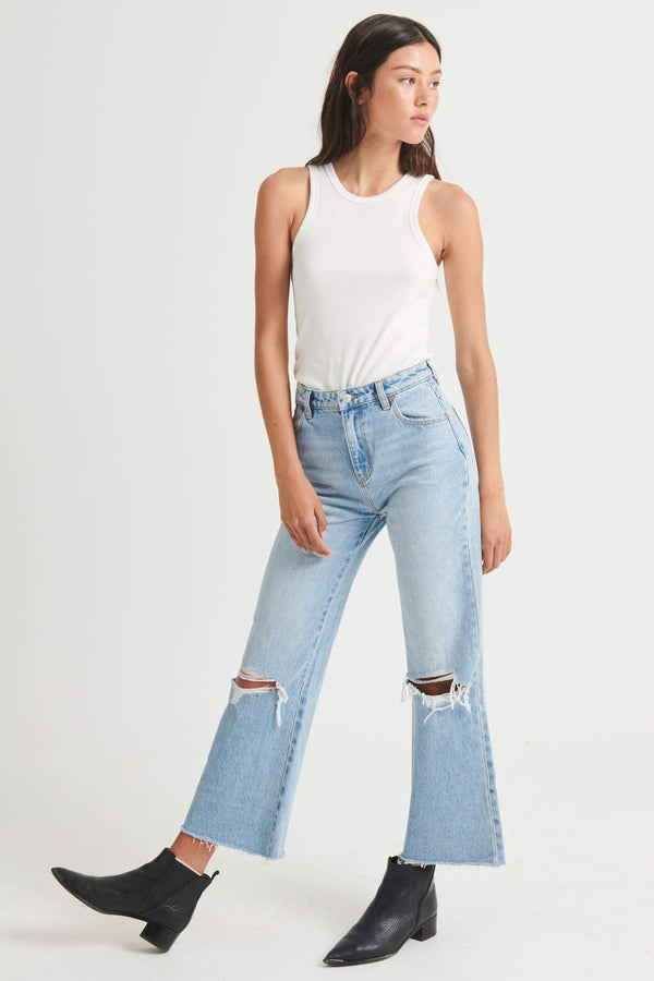 Eastcoast Crop Flare I liv worn