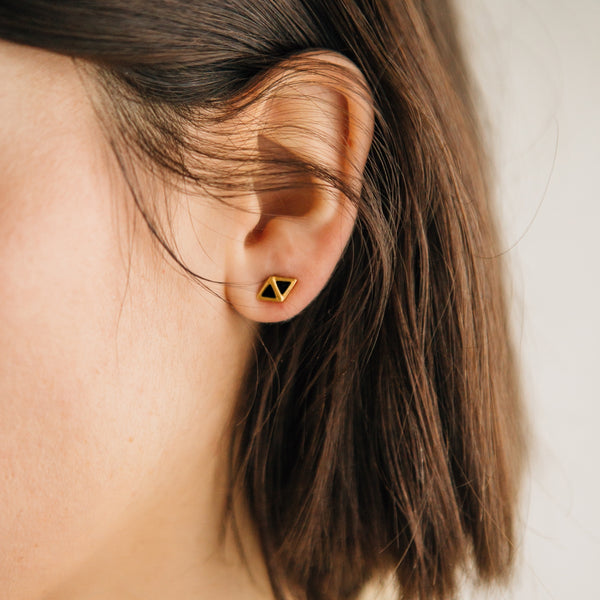 Scout Earrings I Black Onyx