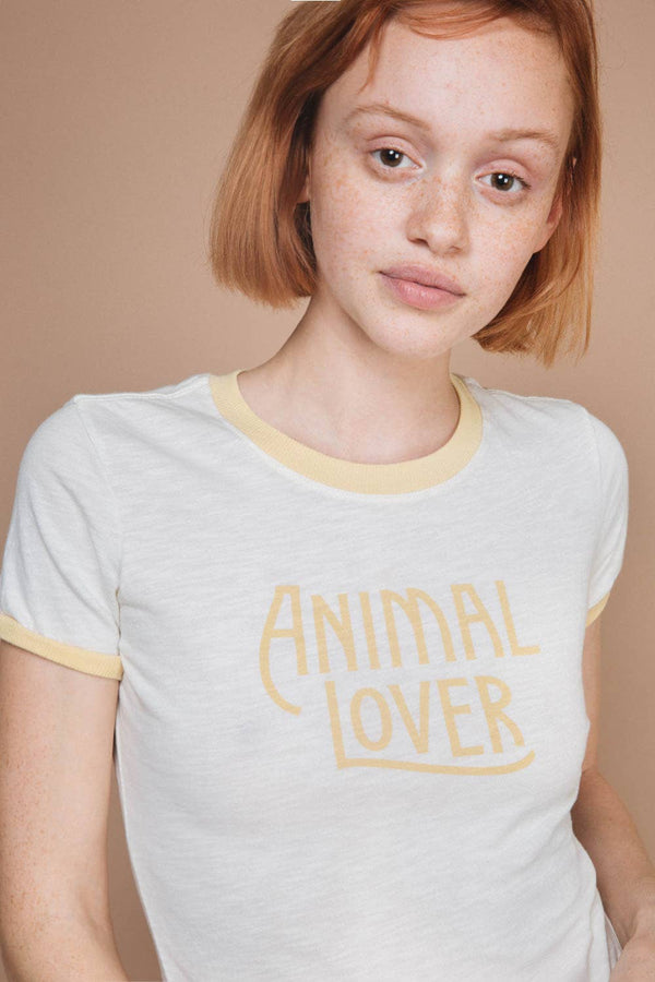 The Bee & The Fox - Animal Lover | Ringer Tee