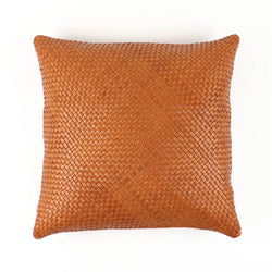 Socco Nolita Woven Leather Pillow