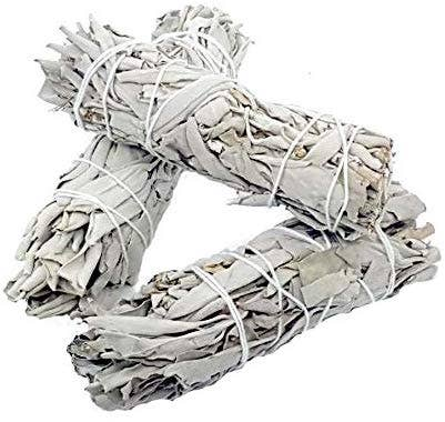 White Sage Smudge Sticks - Energy Clearing Smudging