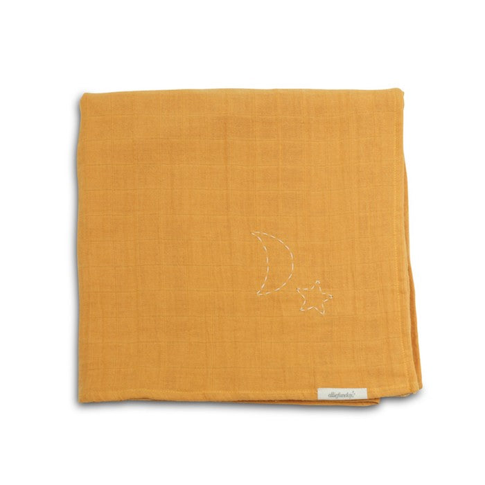 Ellie Fun Day - Golden Mustard Swaddle Scarf