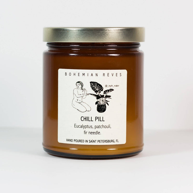 Chill Pill Stress Relief Candle