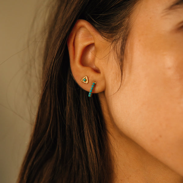 Stargazer Earrings I Turquoise