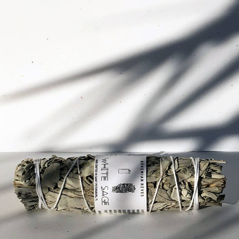 White Sage Smudge Bundle 6""