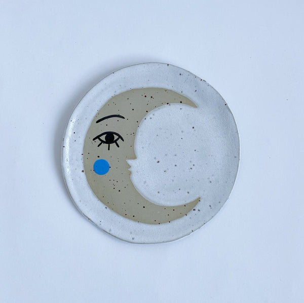 Crescent Moon Ceramic