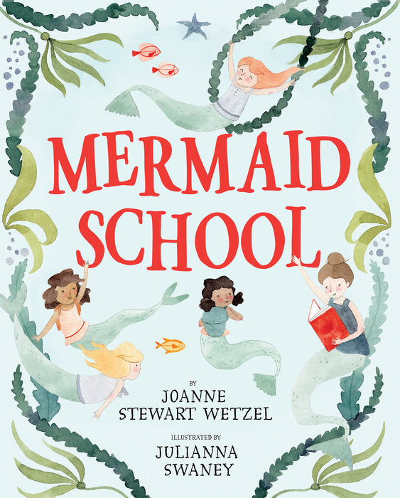 Mermaid School Children's Book