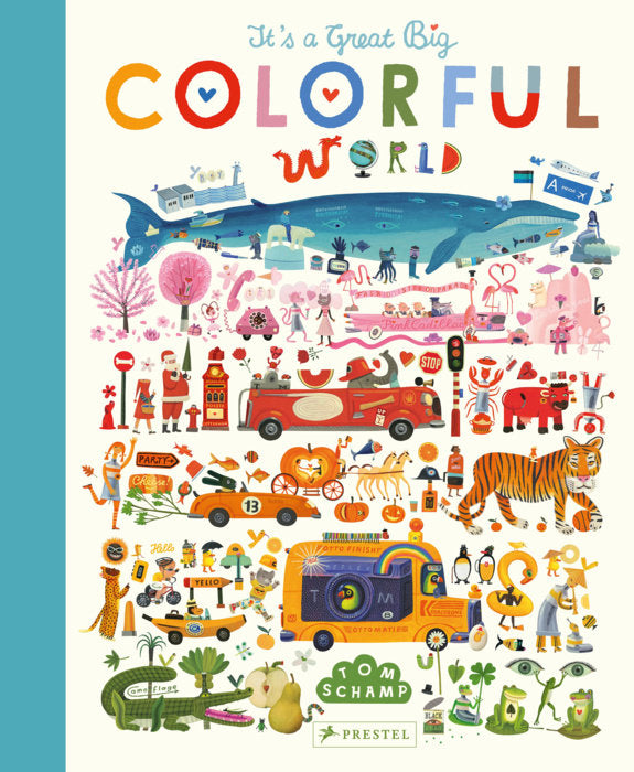 It's A Great, Big Colorful World Children's Book