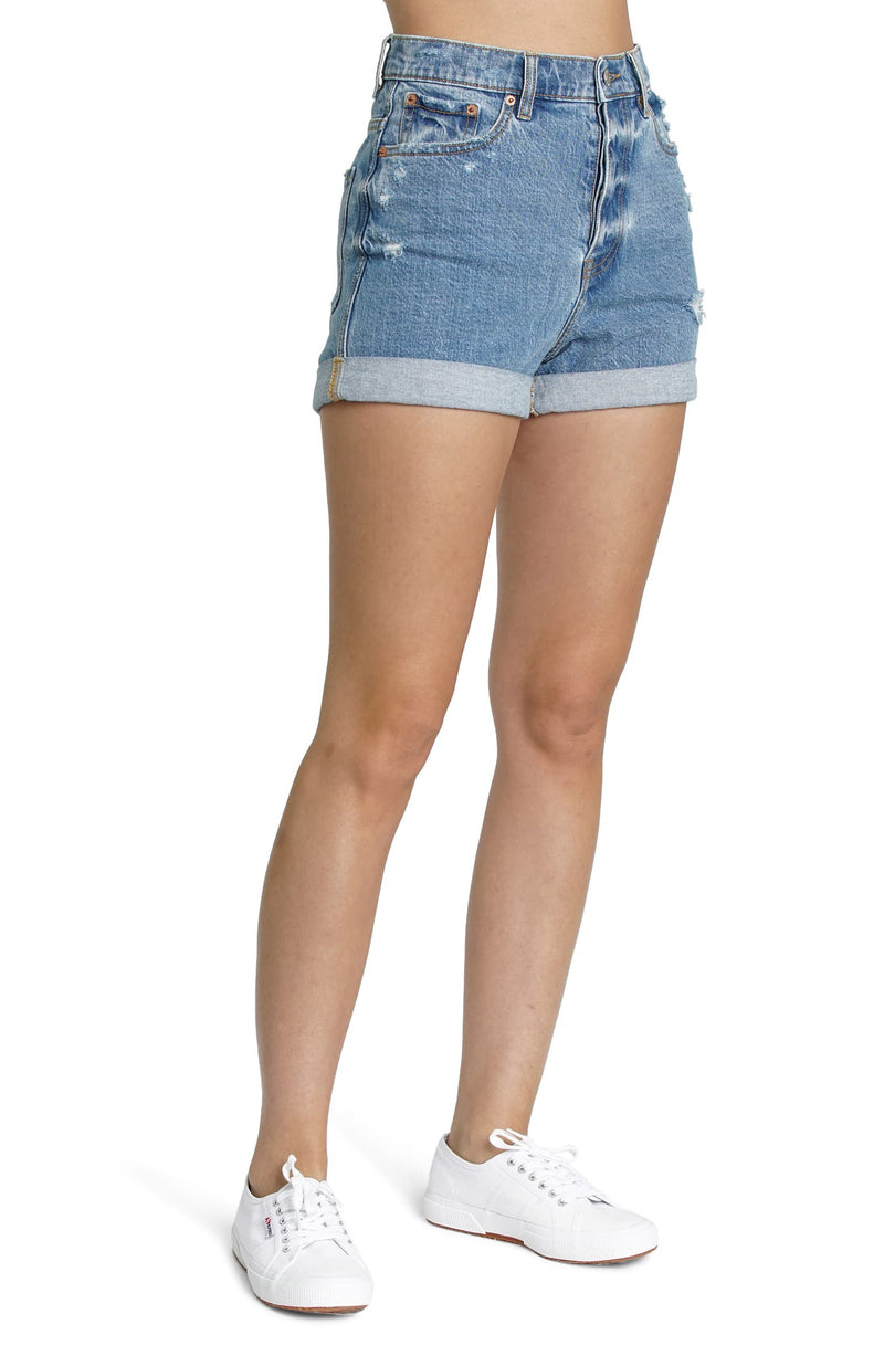 Dad's Girl Cuffed Shorts