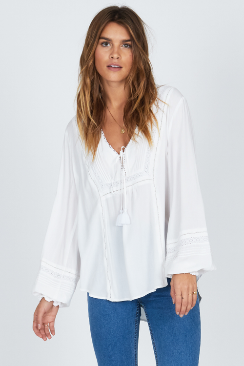 Let it Shine Woven Top