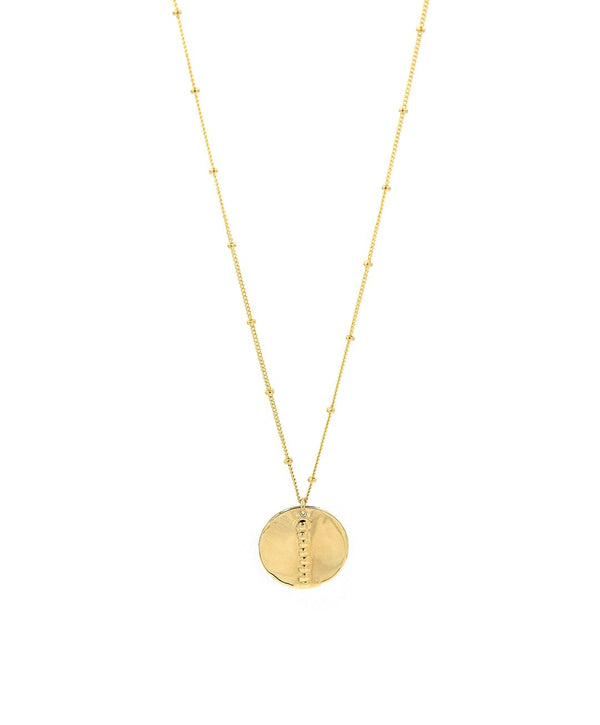 Aster Coin Necklace