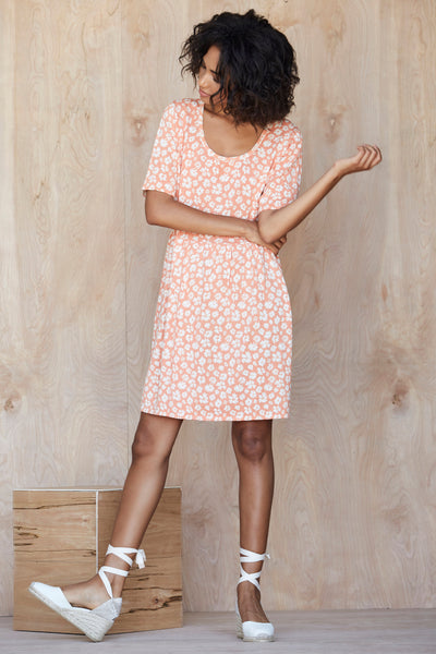 Ditsy Floral Babydoll Dress