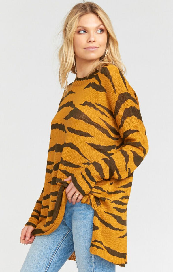 Bonfire Sweater Great Tiger