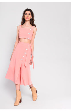 Summer Sunsets Midi Skirt