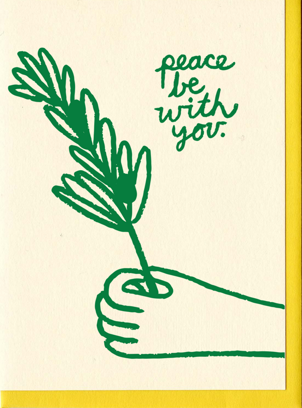 Peace Be With You Card