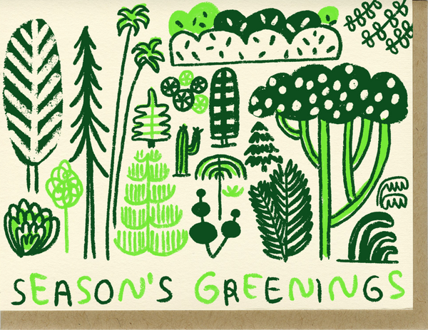 Seasons Greenings Card