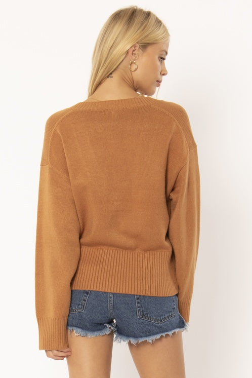Keri Sweater- Tamarind