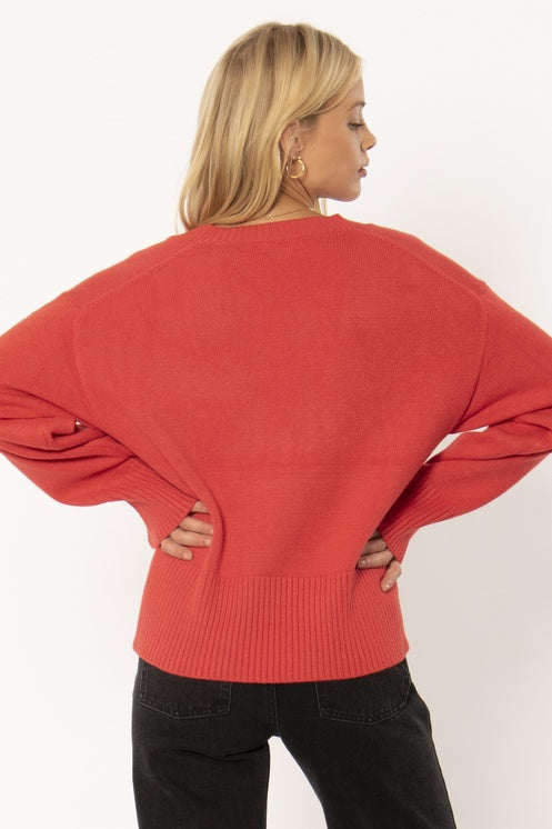 Keri Sweater- Spice
