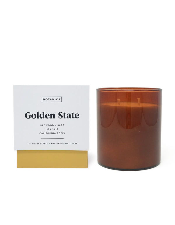 Golden State Large Candle