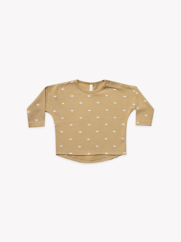 Long Sleeve Baby Tee I honey