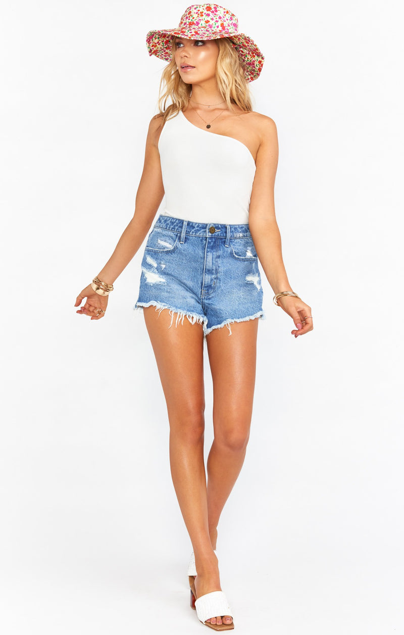 Out Of The Blue Arizona High Waisted Shorts